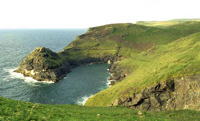 Penally Point and Boscastle Harbour