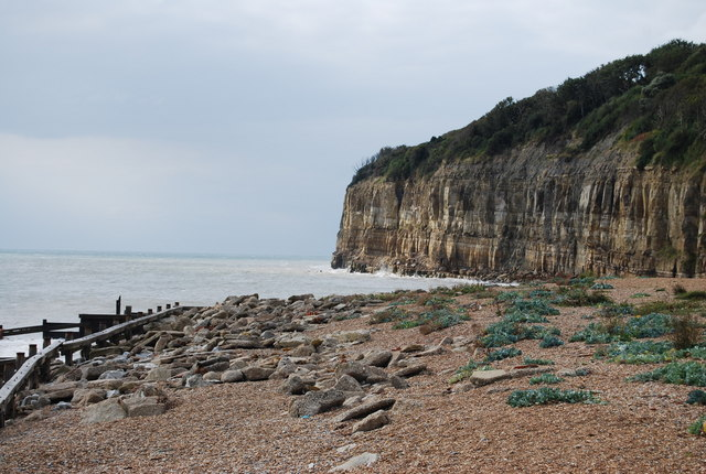 Debris on the beach, Pett Level