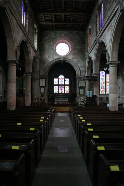 Interior, Church of the Holy Trinity