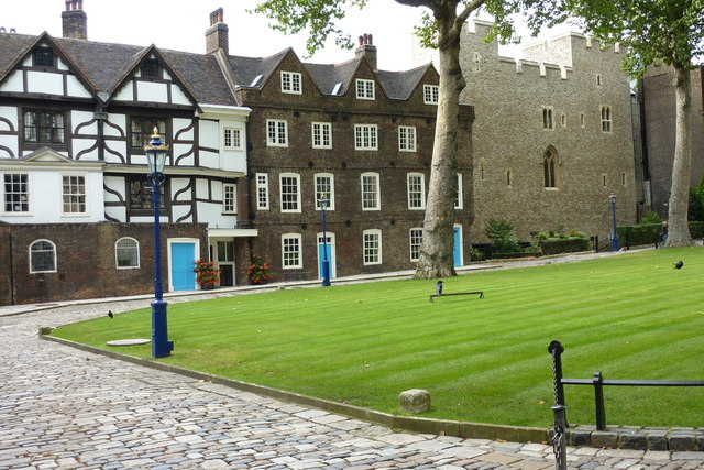 Tower Green and Beauchamp Tower, Tower of London