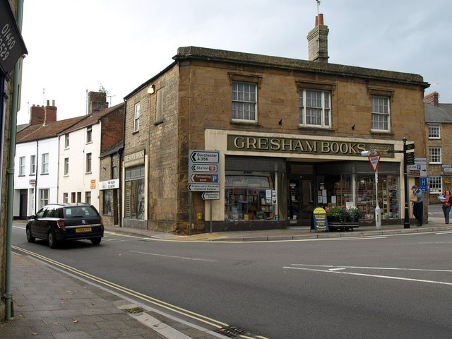 North end of Market Street, Crewkerne