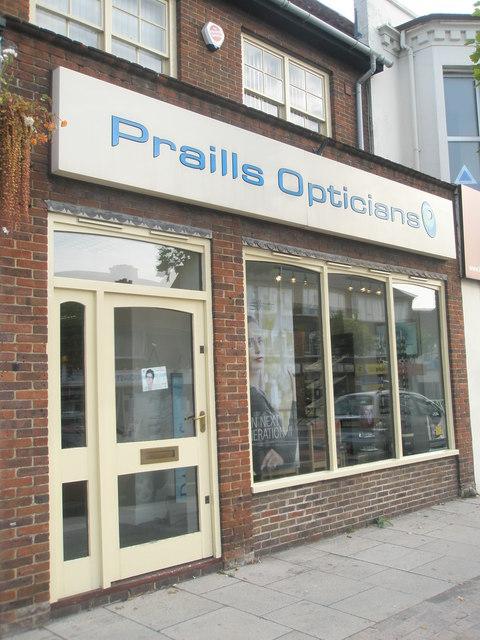 Praills Opticians in West Street