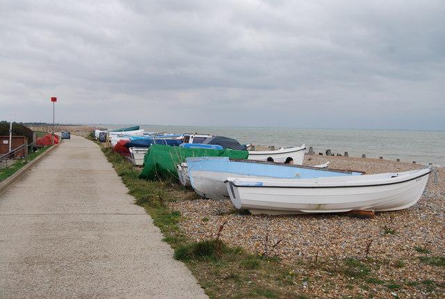 Boats on the Beach, Pett Levels