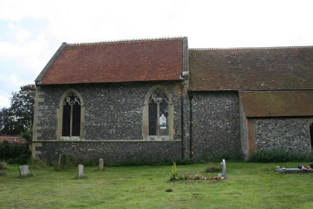 East end of the church