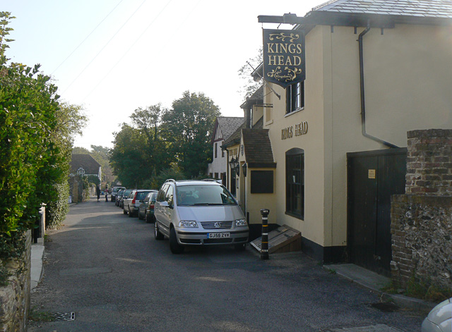 The King's Head pub, Kingsdown