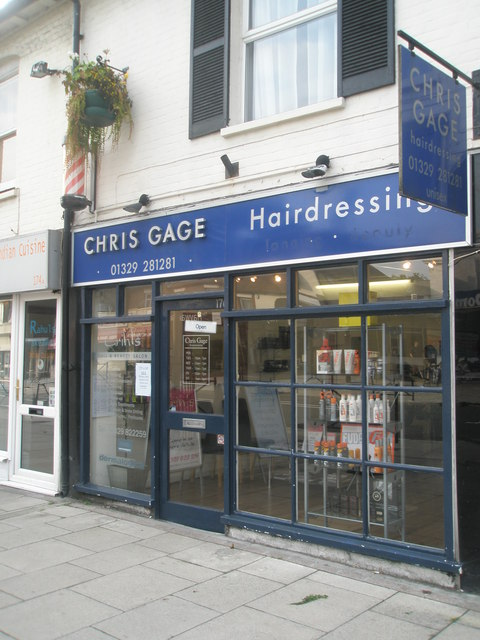 Chris Gage in West Street