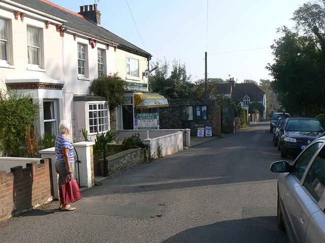 Village newsagent and store, Kingsdown