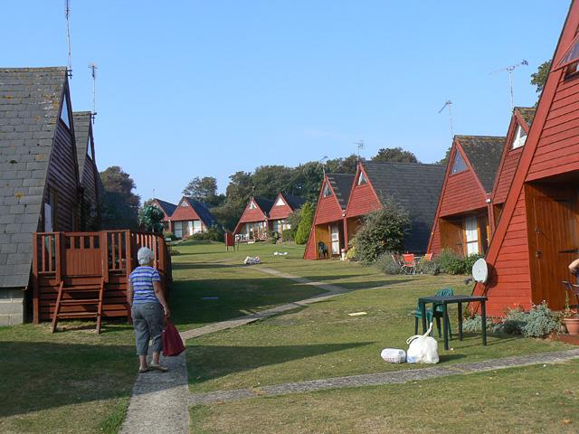 Kingsdown Park chalet village
