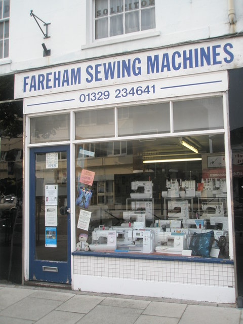 Fareham Sewing Machines in West Street