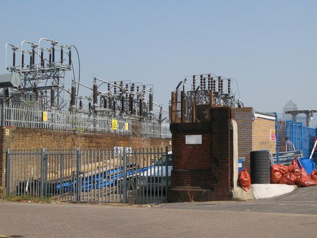 Electricity sub-station, Borthwick Street, SE8