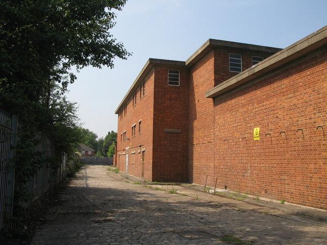 Electricity sub-station building, Deptford Green, SE8 (2)
