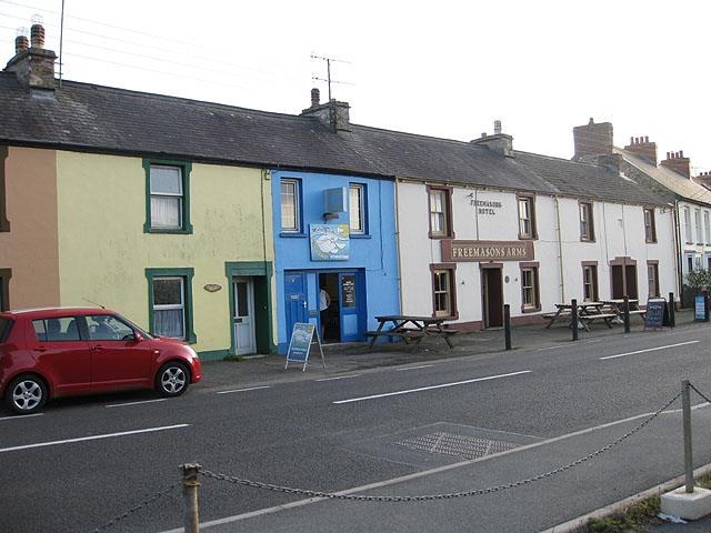 Freemasons Arms, Dinas Cross
