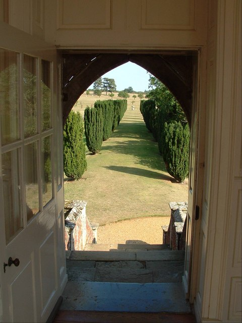 View from the Banqueting House, Melford Hall