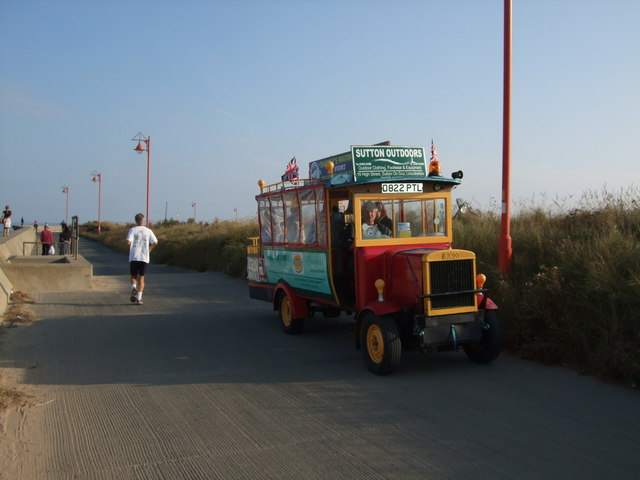 Fun bus at Mablethorpe
