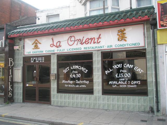 La Orient in West Street