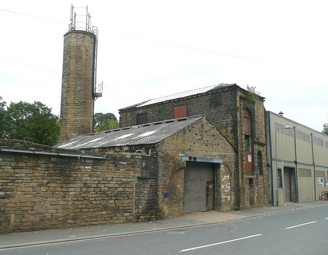 Industrial buildings, Holmes Road, Sowerby Bridge