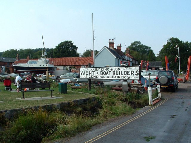 Boat Builders, Pin Mill