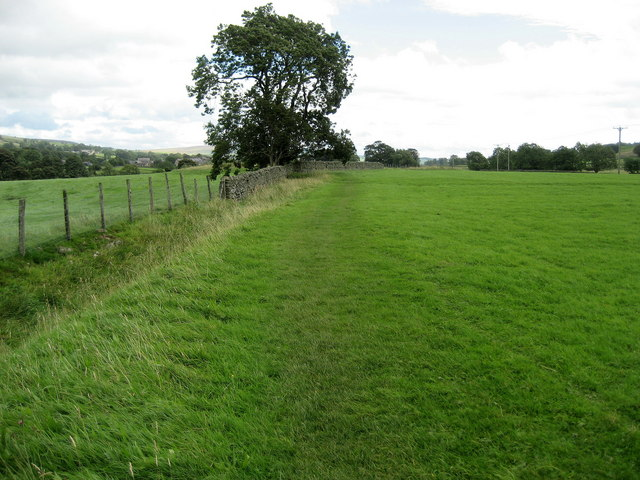 Pennine Way approaching Middleton
