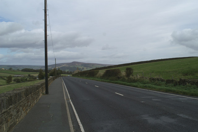 Marchup Height on the A6034