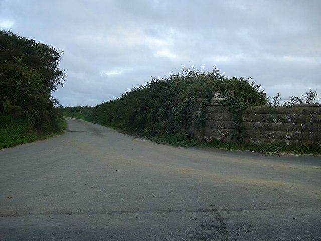 Track to Trecoed, Jordanston