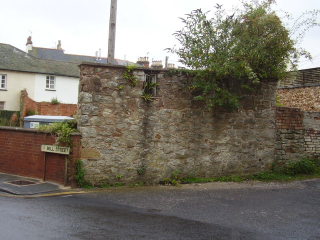 The former Sidmouth Lock up
