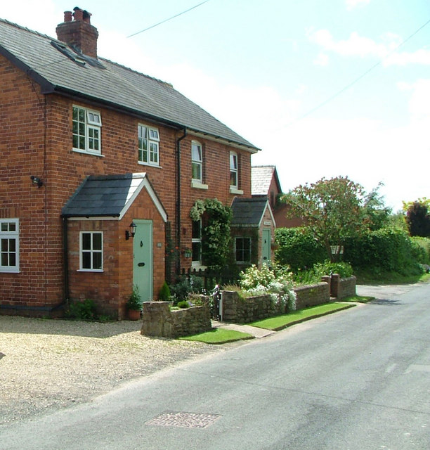 Victorian Cottages Brampton Road Madley