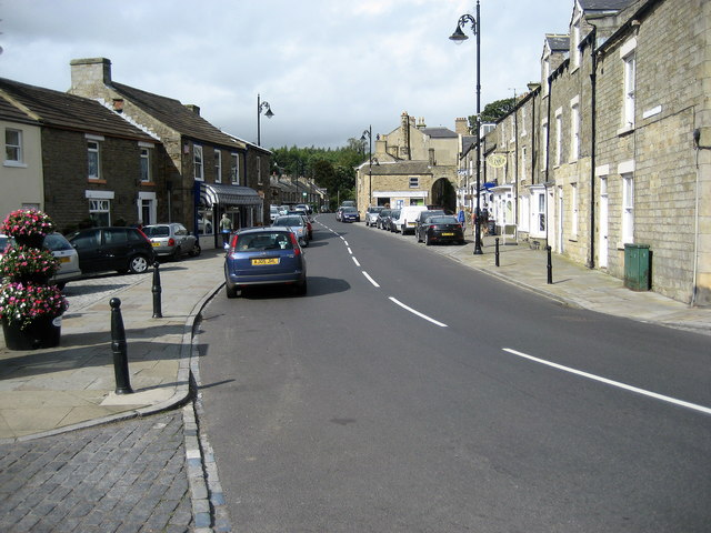 Approaching Market Place, Middleton