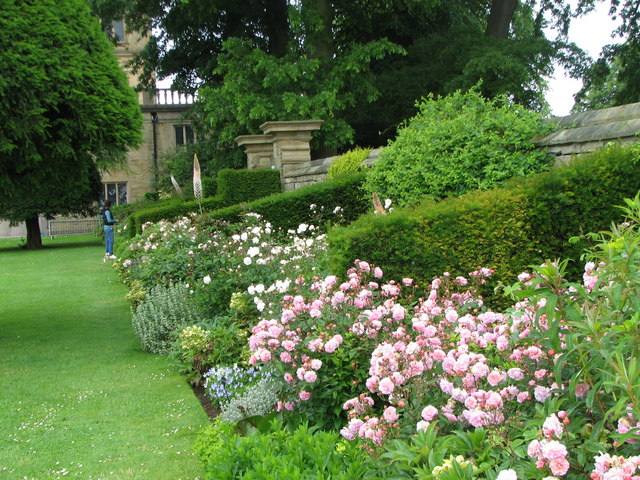 Hardwick Hall - Rose Garden
