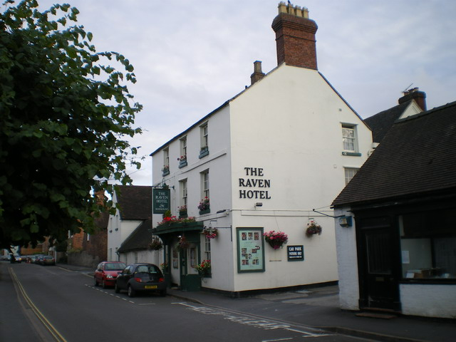 The Raven Hotel, Much Wenlock