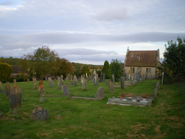 Cemetery and House of Rest on the edge of Much Wenlock