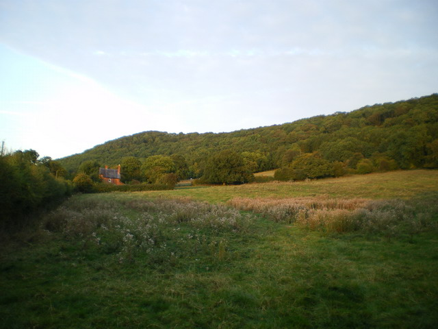 Blakeway Cottage and National Trust fields