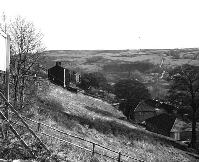 View over Ripponden