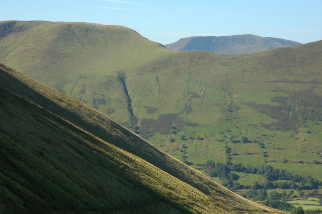 View across Cwm Cywarch