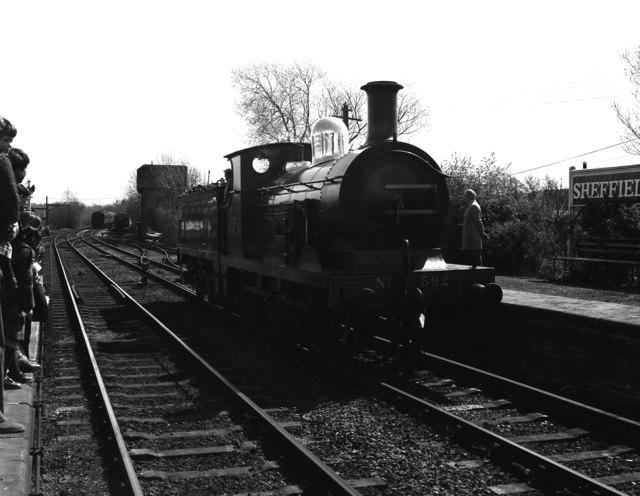 Wainwright  Class C loco at Sheffield Park