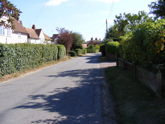 Chapel Lane, Wickham Market