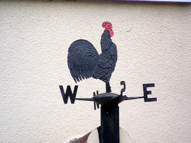 Weather vane, Croscombe