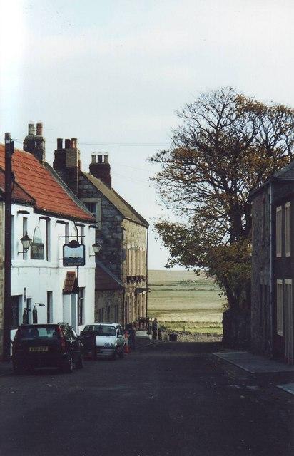 The Ship Inn, Marygate, Lindisfarne.