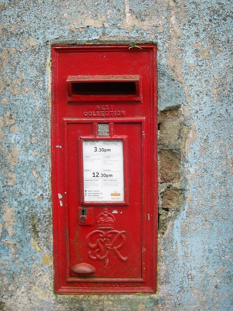 George VI postbox, Mathry