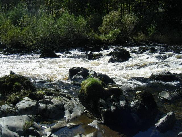 River Nith at Enterkinfoot