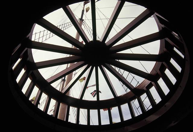 SS Great Britain - skylight