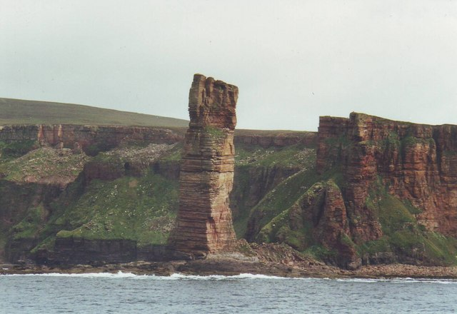 The wonderful Old Man of Hoy, Orkney