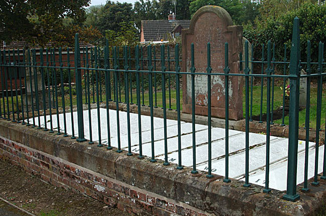 Grave of 'The Nine Men of Madeley'