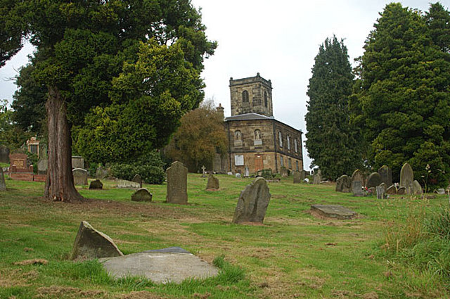 St. Michaels (Madeley) churchyard
