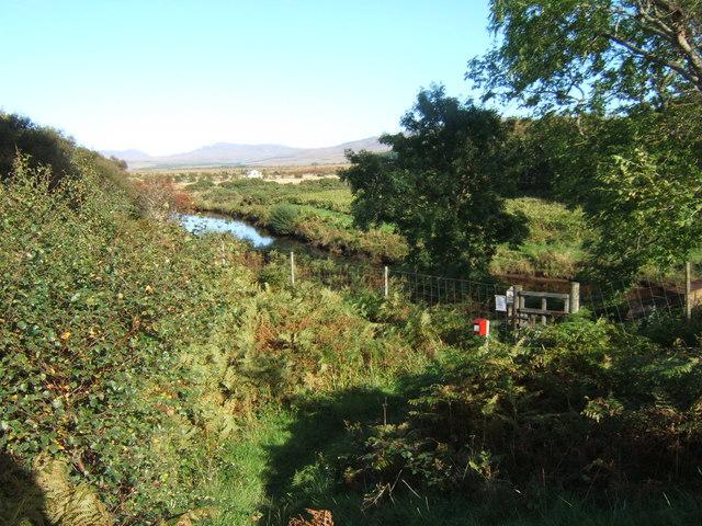 View along the River Laggan