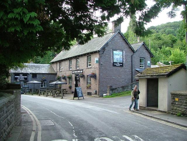 The White Hart Inn, Talybont on Usk