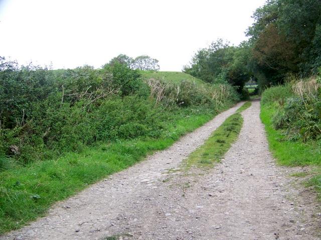 Track near East Horrington