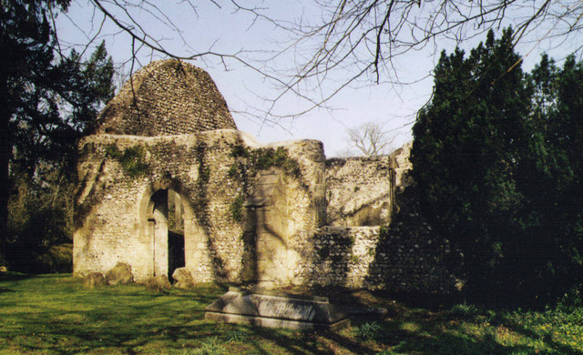 Ruin of St Peter, Lainston
