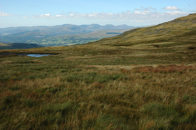 The Rhinogs viewed from Drws Bach
