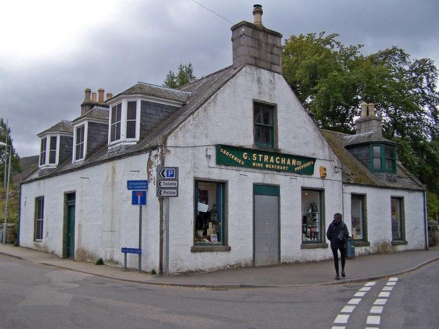Strachans store, Braemar