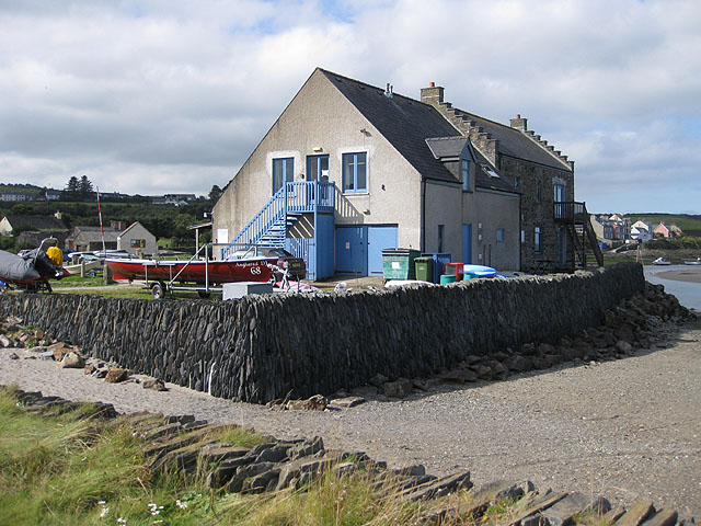 Rear view of the boat club